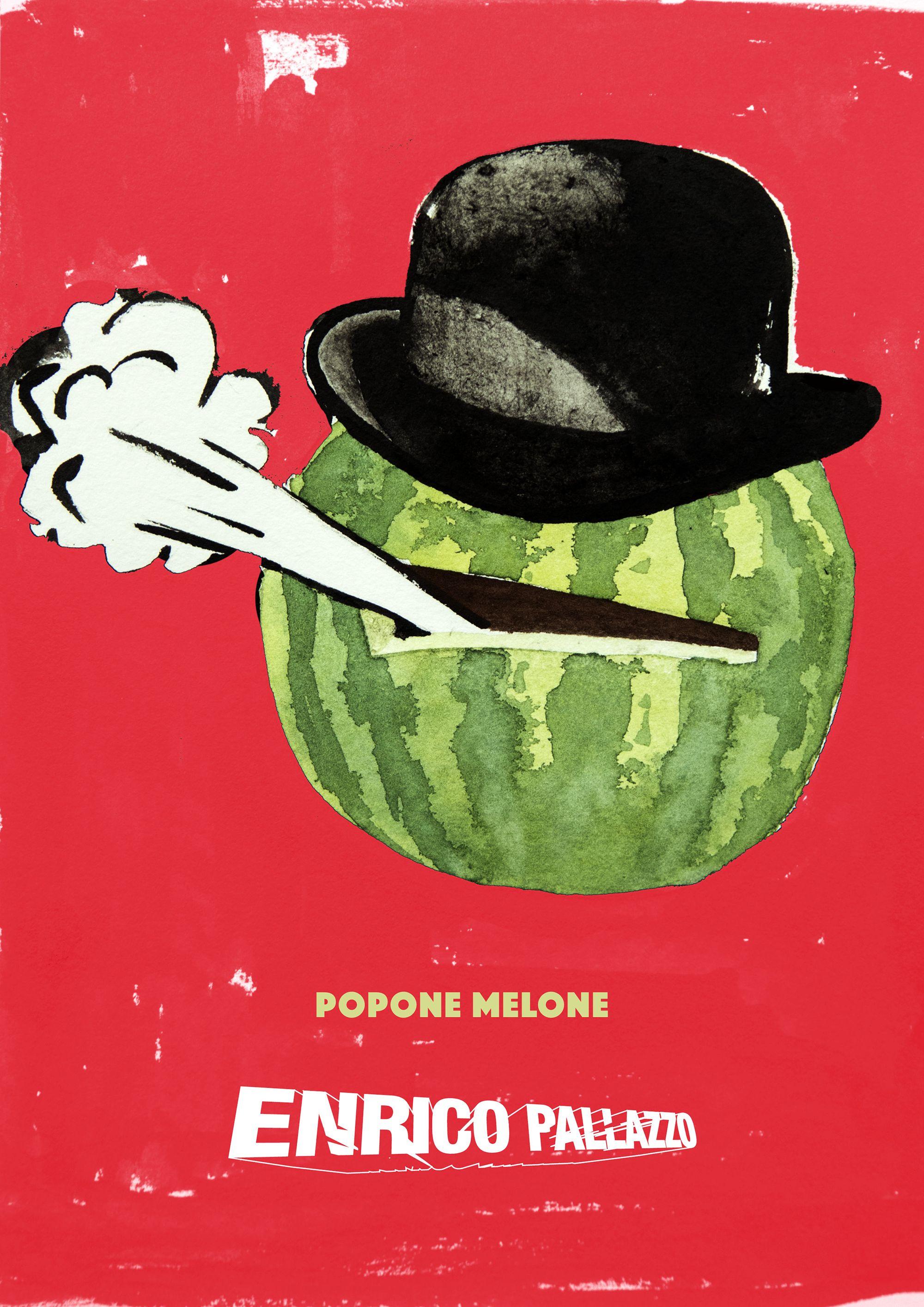 Plakat Melone