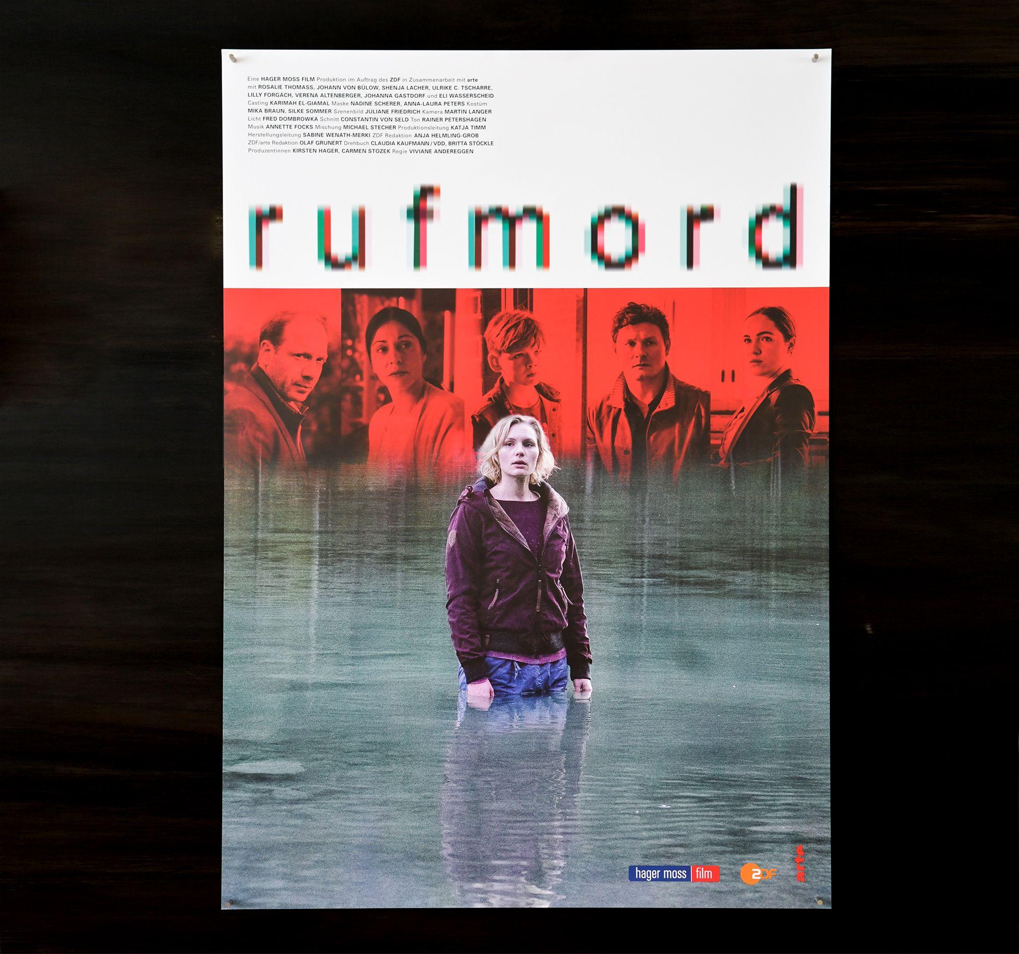 Plakat Rufmord
