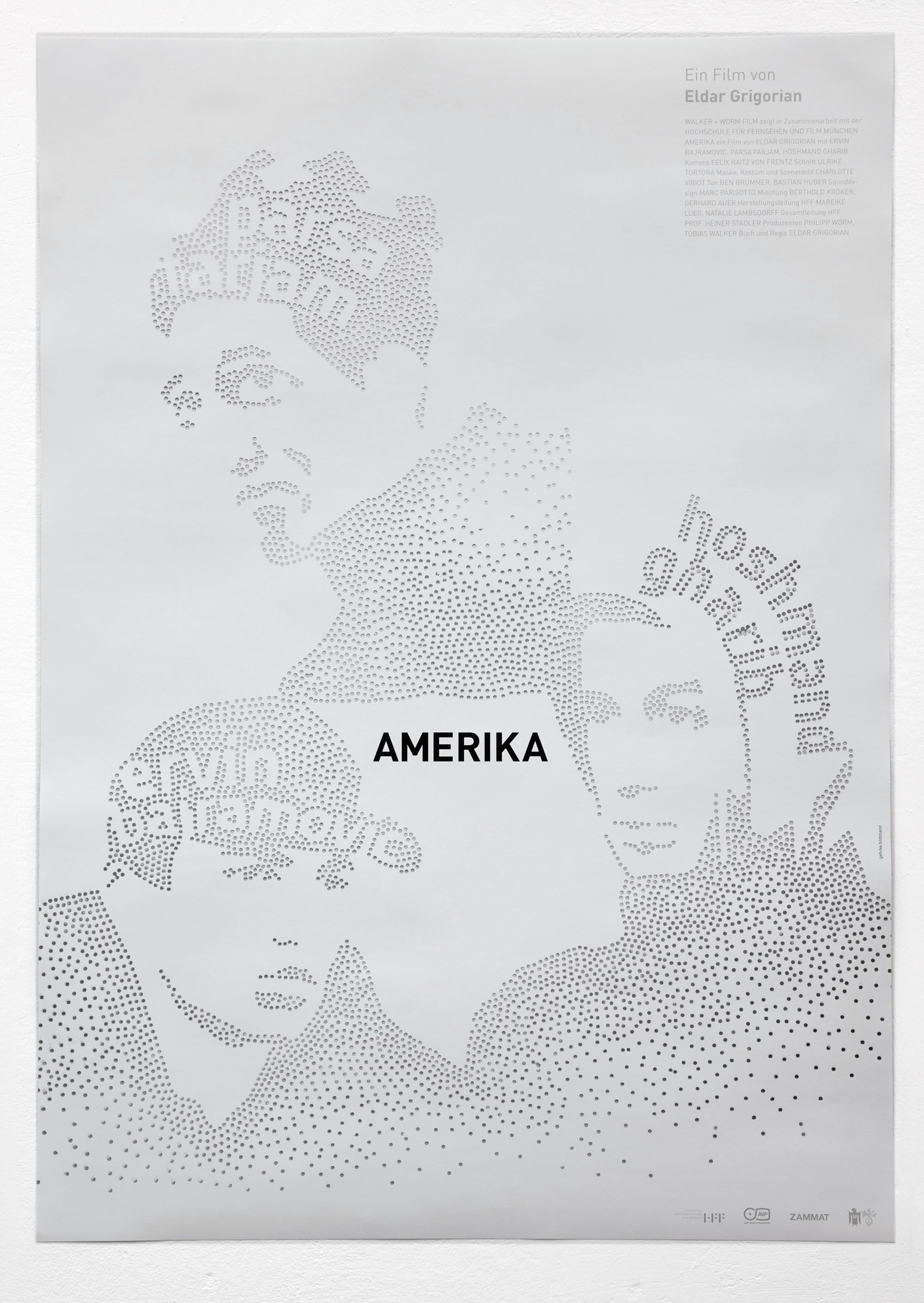 Amerika Plakat