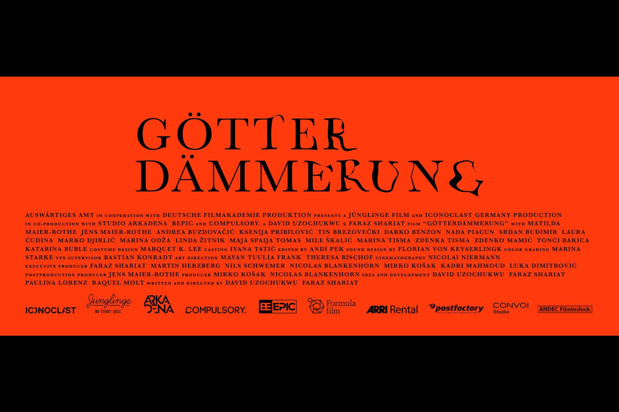 Goetterdaemmerung Trailer