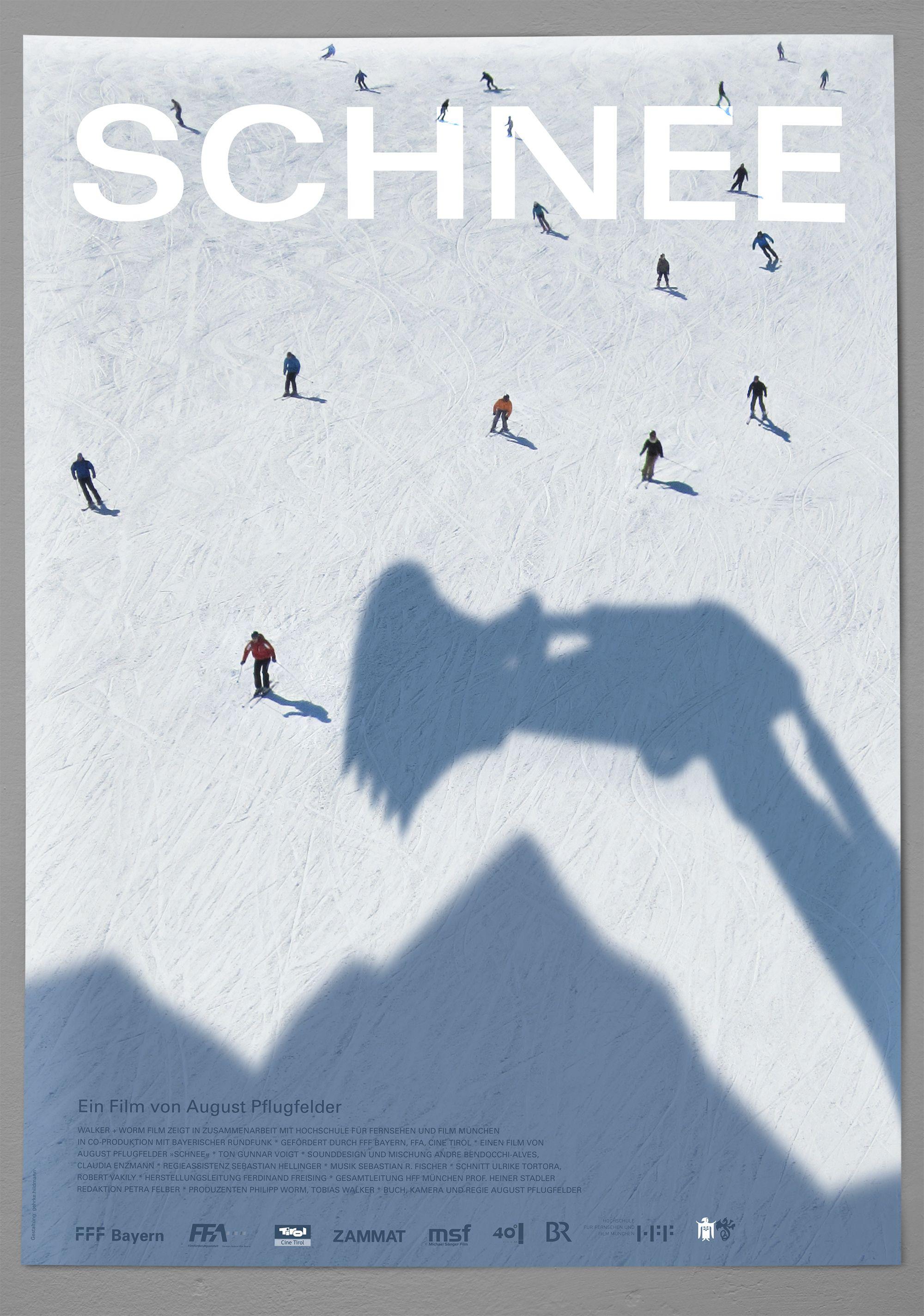 Plakat Schnee